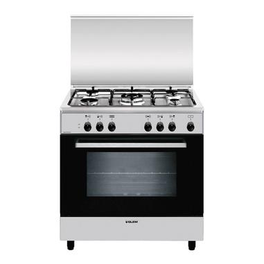 Glem A855EI Libera installazione 95L A Nero, Acciaio inossidabile cucina
