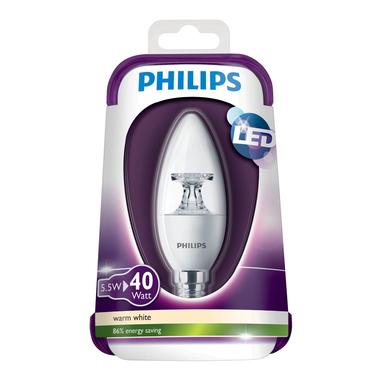 Philips lampada a LED oliva, attacco E 14, 40 W
