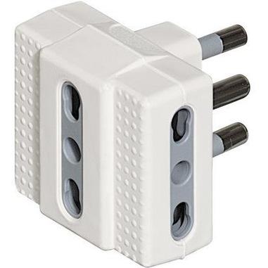 bticino S3604D adattatore per presa di corrente Bianco
