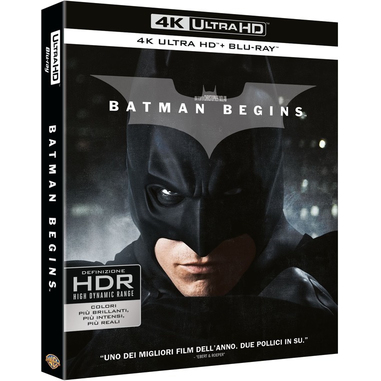 Batman Begins (4K Ultra HD + Blu-Ray)