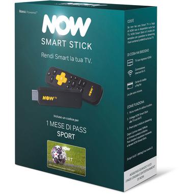NOW Smart Stick con il primo mese incluso del Pass Sport di NOW