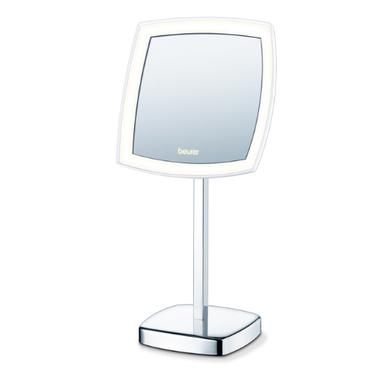 Beurer BS 99 specchietto per trucco in acciaio inossidabile, Bianco