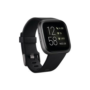"""Fitbit Versa 2 AMOLED 3,55 cm (1.4"""") 40 mm Nero, Grigio"""