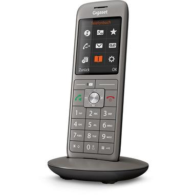 Gigaset C670H Pro Telefono analogico/DECT Grigio Identificatore di chiamata