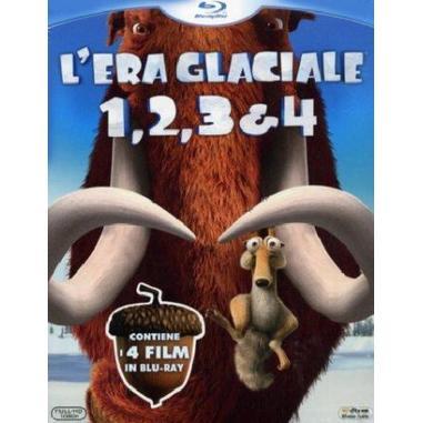 L'Era Glaciale 1, 2, 3 e 4 (Blu-ray)