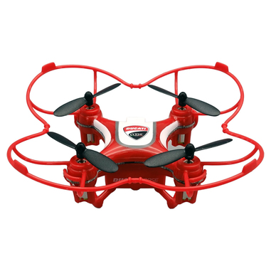 Ducati Corse Dromocopter 4rotori 120mAh Rosso drone fotocamera