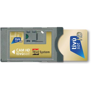TELE System SmarCAM Cam tv Sat TivùSat Interno CI+ lettore di card readers