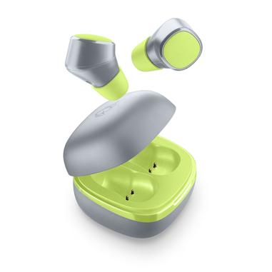 AQL Evade - Universale Auricolari True Wireless in-ear В«No-wiresВ» con custodia di ricarica Lime
