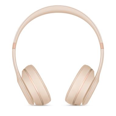Beats by Dr. Dre Beats Solo3 Padiglione auricolare Stereofonico Con cavo e senza cavo Oro auricolare per telefono cellulare