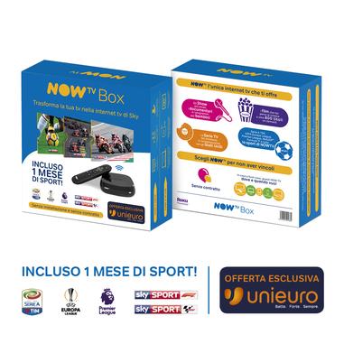 NOW TV Box Sport Edition – con 1 mese di Sport e Calcio