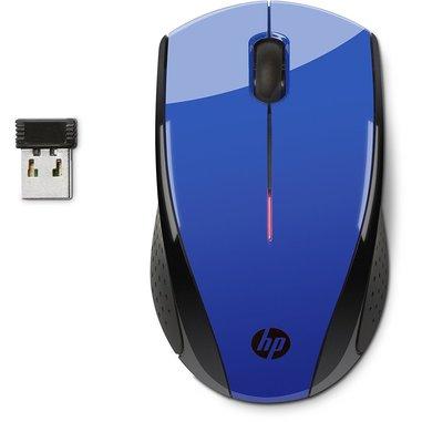 HP Mouse wireless X3000 Blu cobalto
