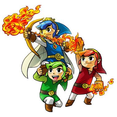 The Legend of Zelda: Tri Force Heroes - Nintendo 3DS