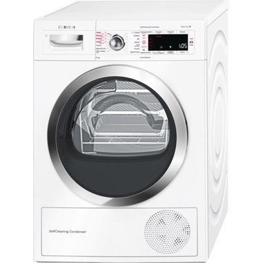Bosch Serie 8 WTW855R8IT asciugatrice Libera installazione Caricamento frontale 8 kg A++ Bianco