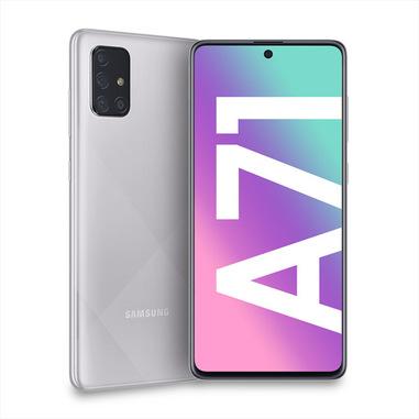 """Samsung Galaxy A71 SM-A715F 17 cm (6.7"""") 6 GB 128 GB Doppia SIM 4G USB tipo-C Argento 4500 mAh"""