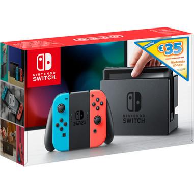 Nintendo Switch + Console da gioco portatile Nero, Blu, Grigio 15,8 cm (6.2