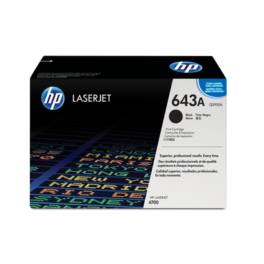 HP 643A Cartuccia laser 11000pagine Nero