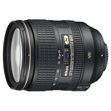 Nikon AF-S Nikkor 24-120mm f/4G ED VR SLR Obiettivi con zoom standard Nero