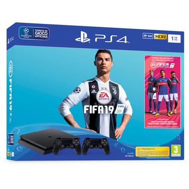 Sony PlayStation 4 1TB + FIFA 19 + secondo DualShock 4