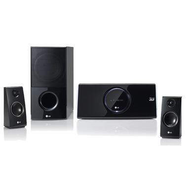 LG HX46R 2.1canali 400W Compatibilità 3D Nero sistema home cinema