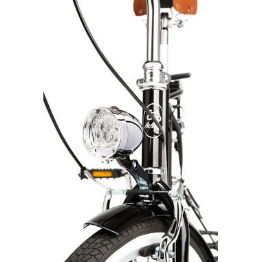 BeBikes La Mia bicicletta Città Acciaio Nero