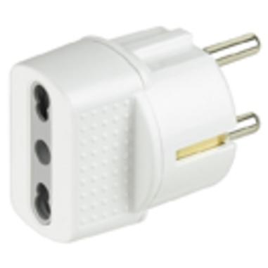 bticino S3625D adattatore per presa di corrente Bianco