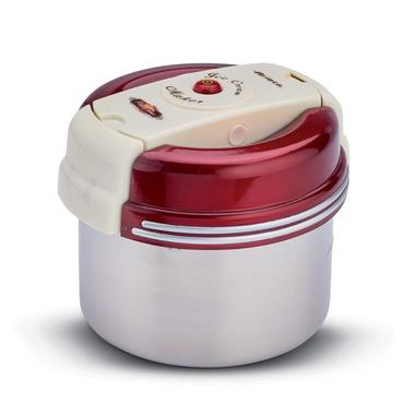 Ariete 630 macchina per gelato Rosso, Acciaio inossidabile, Bianco 10 W