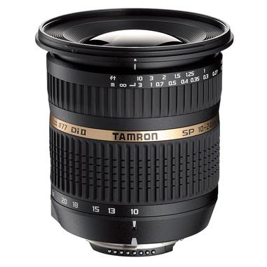 Tamron SP AF10-24mm F/3.5-4.5 Di II LD Aspherical [IF] SLR Obiettivo ultra-ampio compatibile Ninok, nero