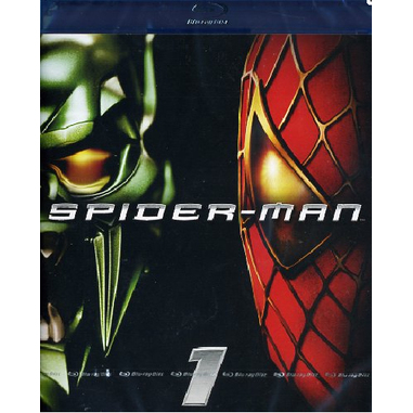 Spider-Man, Blu-ray