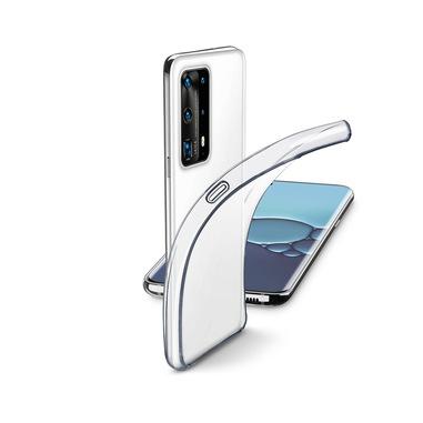Cellularline Fine - P40 Pro Cover in gomma morbida ultra sottile e trasparente