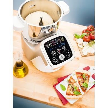 Moulinex HF800 Cuisine Companion Robot da Cucina Multifunzione con 6 Programmi Automatici