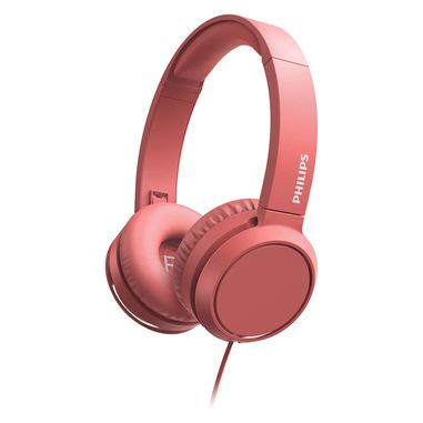 Philips 3000 series TAH4105RD/00 cuffia e auricolare Padiglione auricolare Connettore 3.5 mm Rosso