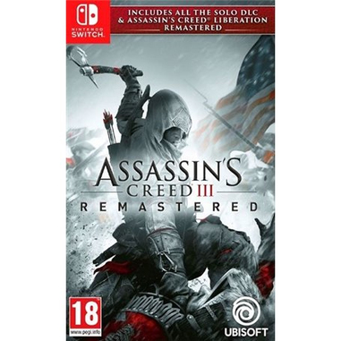 Assassin's Creed 3 + Assassin's Creed Liberation Remastered, Switch