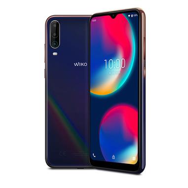 "Wiko View4 16,6 cm (6.52"") 3 GB 64 GB Doppia SIM 4G Micro-USB Blu Android 10.0 5000 mAh"