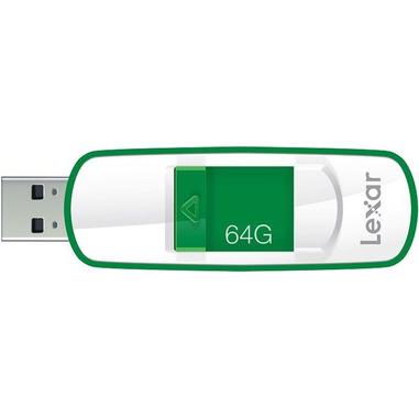 Lexar JumpDrive S73 64GB USB 3.0 unità flash USB USB tipo A 3.2 Gen 1 (3.1 Gen 1) Verde, Bianco