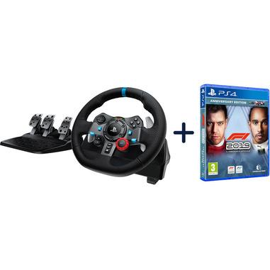 Logitech G29 Driving Force Racing + F1 2019