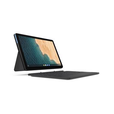 """Lenovo IdeaPad Duet Chromebook 64 GB 25,6 cm (10.1"""") MediaTek 4 GB Wi-Fi 5 (802.11ac) Chrome OS Blu, Grigio"""