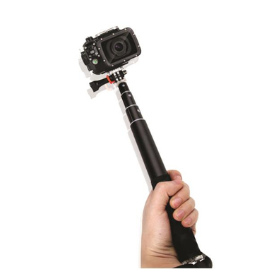 Nilox SELF TIME UNIVERSAL Macchina fotografica Nero bastone per selfie