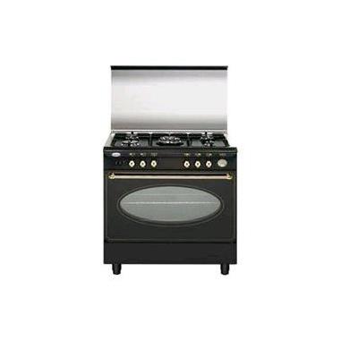 Glem Gas UA85TR3 cucina Piano cottura Nero