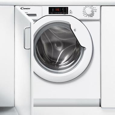 Candy CBWM 814D-S Incasso Carica frontale 8kg 1400Giri/min A+++ Bianco lavatrice