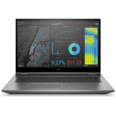 "HP ZBook Fury 17 G7 (9UY34AV) Workstation mobile 43,9 cm (17.3"") 3840 x 2160 Pixel Intel® Core™ i7 di decima generazione 32 GB DDR4-SDRAM 1000 GB SSD NVIDIA Quadro T2000 Wi-Fi 6 (802.11ax) Windows 10 Pro for Workstations Grigio"