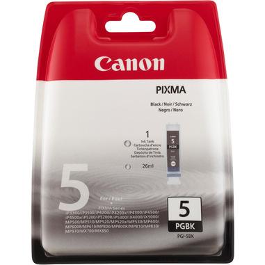 Canon PGI-5BK cartuccia d'inchiostro 1 pz Originale Resa standard Nero