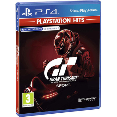 Sony Gran Turismo Sport Playstation Hits Basic Inglese, ITA PlayStation 4