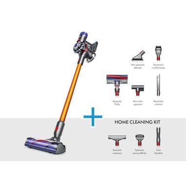 Dyson V8 Absolute 0.54L Grigio, Nichel + kit accessori pulizia casa