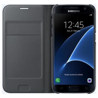Samsung FLIP Wallet Galaxy S7 Foglio Nero