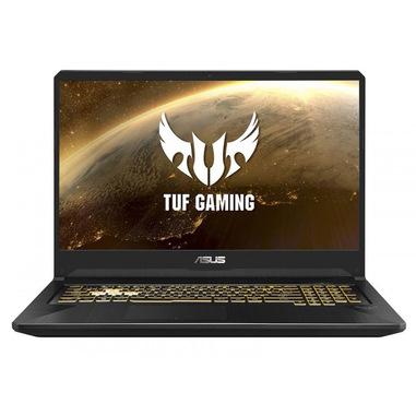 "ASUS TUF Gaming FX705DU-H7093T DDR4-SDRAM Computer portatile 43,9 cm (17.3"") 1920 x 1080 Pixel 3rd Generation AMD Ryzen 7 16 GB 1512 GB HDD+SSD NVIDIA® GeForce® GTX 1660 Ti Wi-Fi 5 (802.11ac) Windows 10 Nero, Oro"