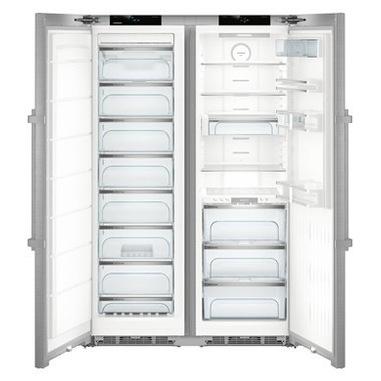 Liebherr SBSes 8773 frigorifero side-by-side Libera installazione Acciaio inossidabile 635 L A+++