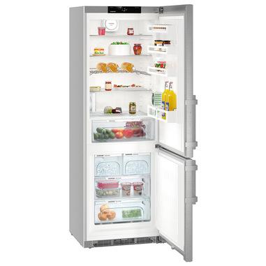 Liebherr CNef 5745 frigorifero con congelatore Libera installazione Argento 397 L A+++