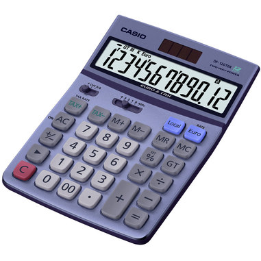 Casio DF-120TER con display Viola calcolatrice