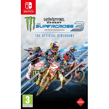 Monster Energy Supercross 3 - The Official Videogame 3, Switch