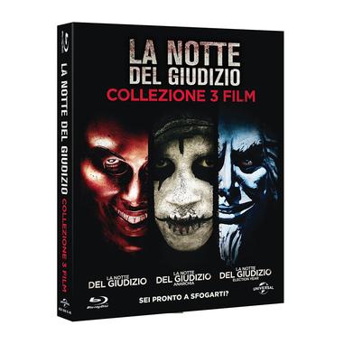 La Notte del Giudizio: La Trilogia (Blu-ray)